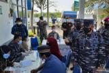 TNI AL menggelar vaksinasi maritim di Tanjung Pasir Tangerang