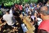Jenazah warga binaan korban kebakaran Lapas Tanggerang disambut isak tangis keluarga