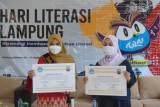 Kantor Bahasa Provinsi Lampung road show peringati hari literasi di Lampung Selatan