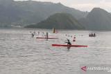 Tim dayung Sultra latihan kenali arena PON Papua