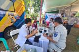 Jasa Raharja Sumsel bakti sosial  HUT Ke-66 Bhayangkara Lantas