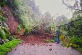 Jalan kabupaten di Malampah tertimbun longsoran