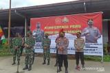 TNI-Polri bantu genjot vaksinasi COVID-19 di Kota Medan