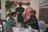 Kemenhub menggelar vaksinasi massal di Solo dan Yogyakarta