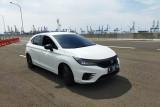 Mengecek konsumsi BBM Honda City Hatchback