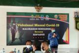 Pemkab Bantul dukung percepatan vaksinasi COVID-19 di Desa Sendangsari