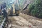 Jalan liku endikat Kota Pagaralam kembali normal setelah longsor