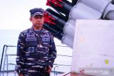 TNI AL kerahkan lima KRI jaga laut Natuna Utara