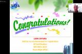 Lagi, Perum LKBN ANTARA raih sertifikat SNI ISO Sistem Manajemen Mutu