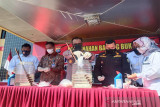 Dua bulan Polda Kalteng sita 1,3 kilogram sabu