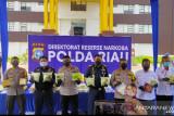 Dalam sebulan Polda Riau ungkap peredaran 117 kg sabu dan 1.000 pil ekstasi