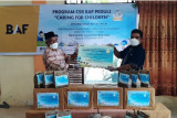 Sambut HUT ke-24, BAF salurkan CSR ke Panti Wira Lisna Padang