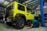 Suzuki luncurkan program 'Product Quality Update' untuk Jimny