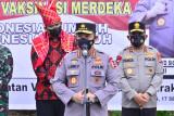 Kapolri ingatkan prokes dan vaksinasi bantu turunkan level PPKM Sumatera Utara