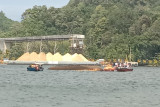Kapal Pengayoman IV terbalik di Perairan Pulau Nusakambangan