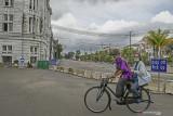 Pengelola izinkan warga untuk berolahraga di Kota Tua pada Sabtu-Minggu pagi