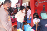 Wakapolda Sulut tinjau vaksinasi sejumlah Gerai Presisi di Kabupaten Sitaro