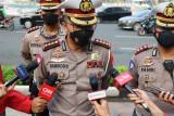 Polda Metro Jaya tilang 314 kendaraan pada pengamanan
