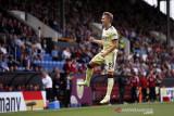Gol tendangan bebas Martin  Odegaard jadi pembeda Arsenal atas Burnley