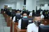 5.196 CASN di Kabupaten OKU  ikuti ujian SKD dengan prokes ketat