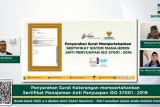 BAZNAS  pertahankan sertifikasi manajemen antisuap ISO 37001:2016