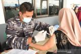 Layanan vaksinasi COVID-19 Lantamal XIII sudah menjangkau 62.473 warga