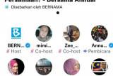 Menteri Komunikasi Multimedia Malaysia interaksi lewat Twitter Space