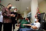Jumlah pendonor darah di Surabaya setahun mencapai 200 ribu lebih