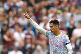 Liga Inggris : Manchester United menang dramatis 2-1 atas West Ham