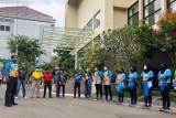 Kontingen terbesar pertama DIY berangkat ke Papua