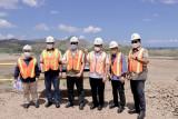 Menteri ESDM tinjau lokasi proyek smelter AMMAN