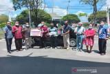 CSR Bank Kalteng bantu mobil untuk kelompok tani di Kapuas