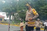 Polri-TNI perketat pengamanan di Kuala Kencana saat lomba marathon PON XX