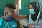 Kodim Boven Digoel layani vaksinasi warga di Koramil Tanah Merah