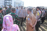 TNI-Polri dan Pemkab Lombok Tengah mengerahkan 150 tim vaksinator