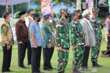 Prajurit Kodam XVII/Cenderawasih ikuti apel gelar pasukan pengamanan PON XX