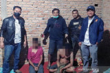 Riki ditangkap di jalan dengan barang bukti sembilan paket sabu-sabu