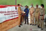 Boyolali salurkan 4,95 ton GKG untuk masyarakat terdampak Merapi