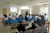 Tingkatakan layanan, BPJS Kesehatan pantau kunjungan peserta di RSUD Muara Teweh