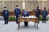DPRD dan Pemkab Barut teken kesepakatan rancangan Perubahan APBD