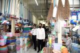 Presiden Jokowi : Fasum Rusun Pasar Rumput permudah aktivitas ekonomi