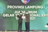 Lampung raih juara umum Gelar Teknologi Tepat Guna Nasional XXII