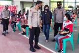 Pelajar di Bartim bersemangat ikuti vaksinasi karena kangen masuk sekolah