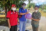PWI Barsel bagikan sembako bantu korban banjir