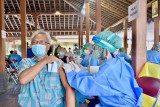 Pemda DIY menggencarkan vaksinasi COVID-19 masyarakat tingkat kelurahan