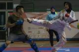 Latihan Atlet Karate sumatera Selatan
