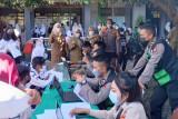 Vaksinasi COVID-19 untuk pelajar Kota Mataram capai 52,41 persen