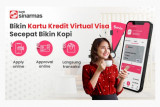 Bank Sinarmas dan Visa kolaborasi luncurkan kartu kredit virtual