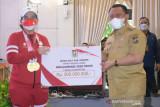 Sampai di Bangkinang, Leani Ratri diberi bonus Rp300 juta oleh Bupati