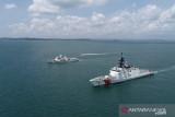 KN Pulau Dana Bakamla melaksanakan